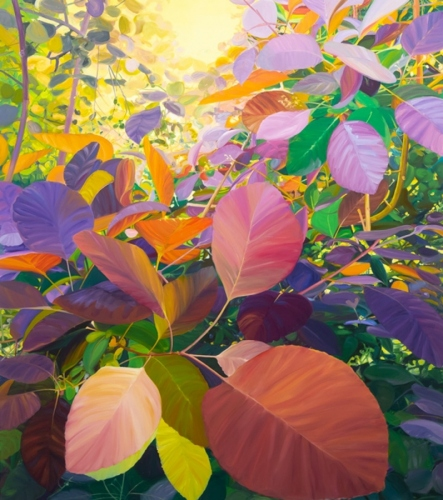 Holloway, 2018, oil on canvas, 67 x 59 cm