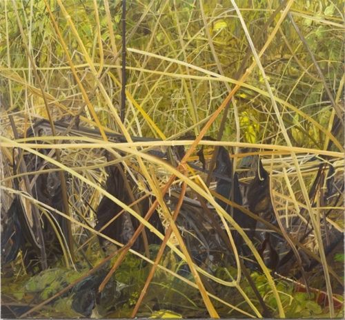 Snape, 2018, oil on canvas, 26 x 28 cm