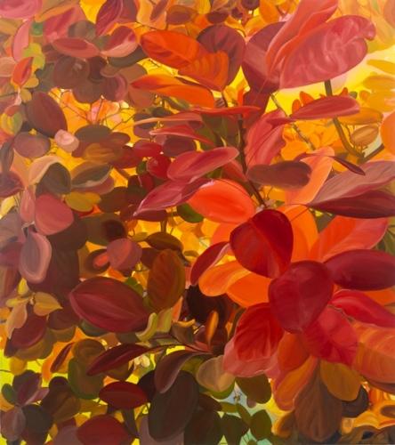 Sunblink, 2018, oil on canvas, 71 x 63 cm