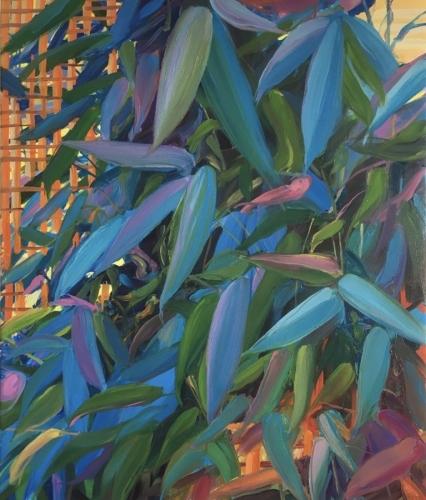 Trellis, 2020, oil on canvas